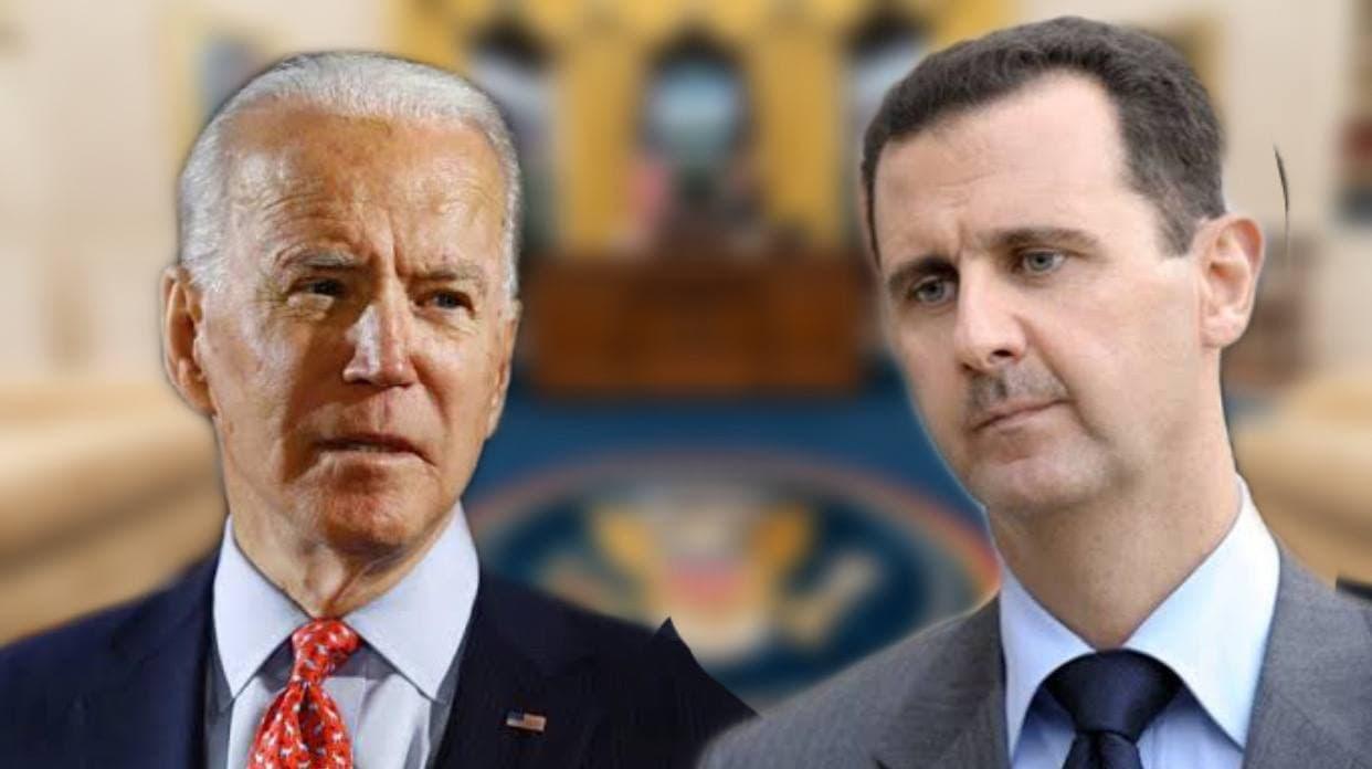 صورة موضحاً تفاصيله.. إعلامي أمريكي بارز: جو بايدن يحضر مخطط محكم للإطـ.احة ببشار الأسد!
