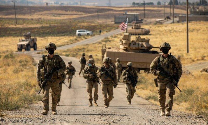 صورة إدارة بايدن تناقش انسحاب الجيش الأميركي من سوريا