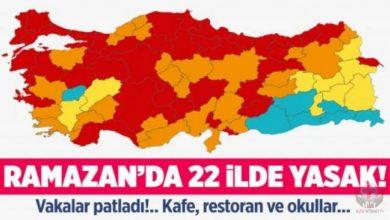صورة السلطات التركية تفرض حظر جديد على 22 ولاية خلال شهر رمضان