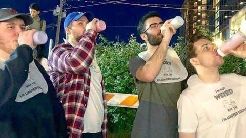 صورة شاهد.. مشروبات للكبار برضاعات أطفال ودولة عربية أول المنفذين!