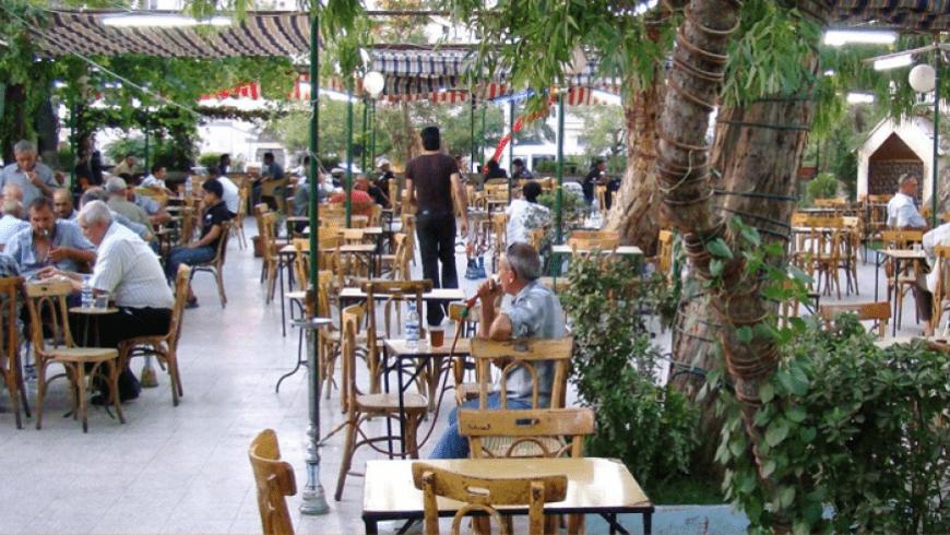 صورة هدم مقهى الحجاز التاريخي