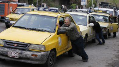 صورة أزمة تنذر بانتفاضة جديدة.. الوقود يشعل الغضب في مناطق النظام السوري(صور)