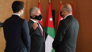 صورة العاهل الأردني يوافق على تعديل حكومي محدود