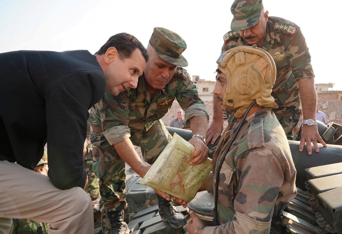 صورة الأسد يتهاوى بسرعة.. وهذا ما تحتاجه سوريا بشكل عاجل