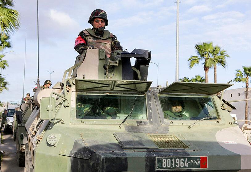 صورة اشتباكات بين الجيش المغربي والبوليساريو.. وتحرك دولي