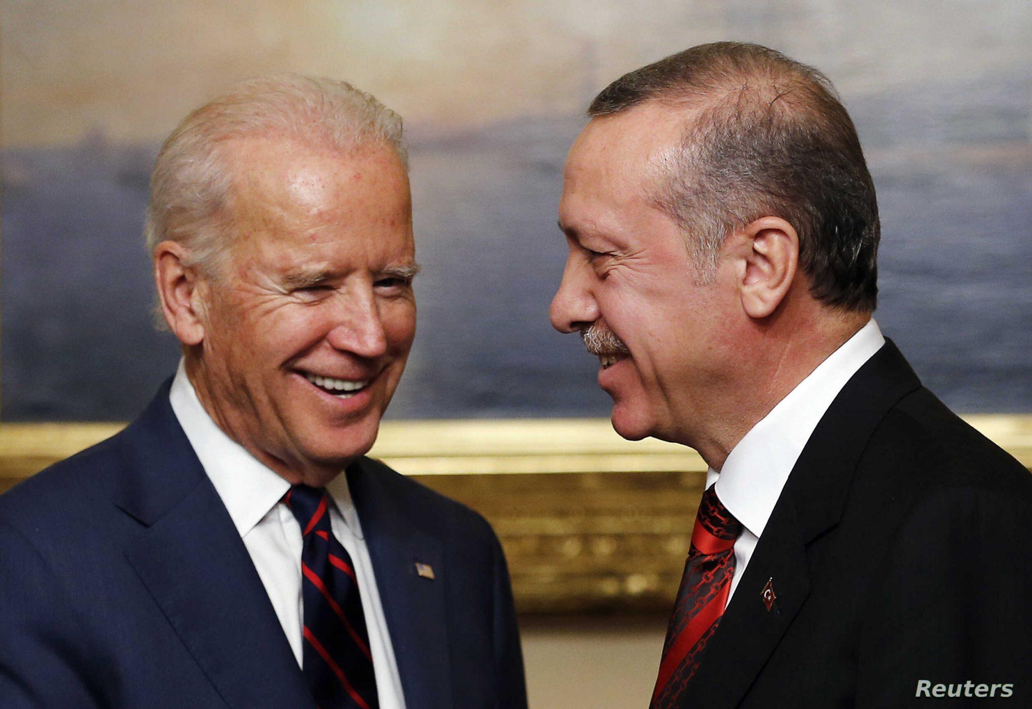 صورة بايدن متفاجئ أول تعليق من الرئيس الأمريكي بعد قرار أردوغان الأخير