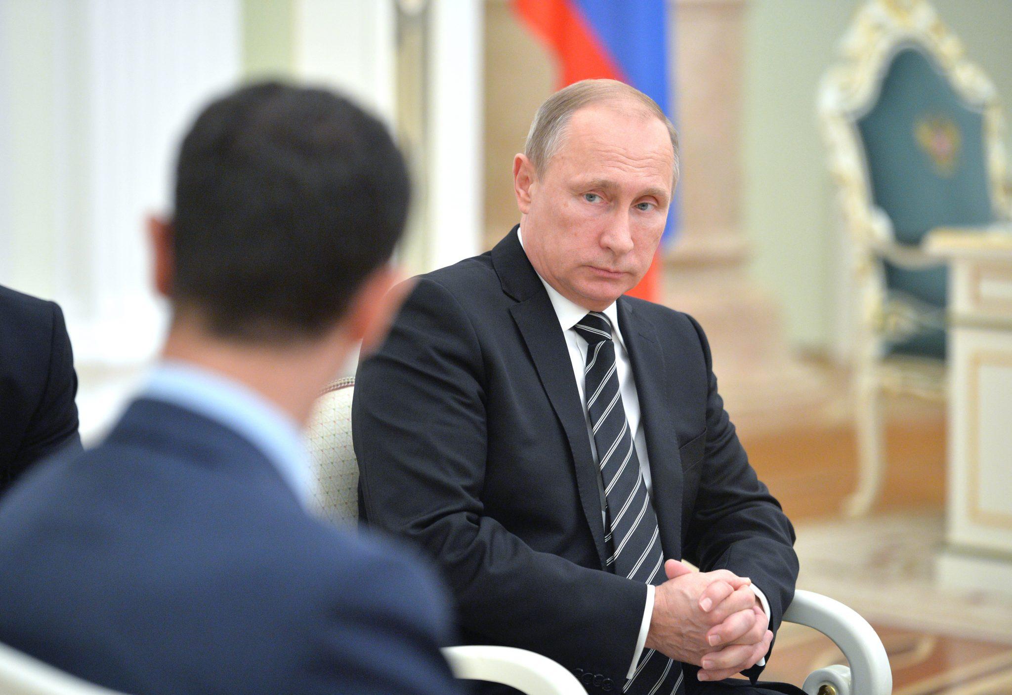 صورة الرئاسة الروسية: الأسد سيستقيل من منصبه.. ولكن!