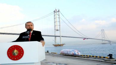 صورة أردوغان يعلن موعد تشييد أول جسر فوق قناة اسطنبول