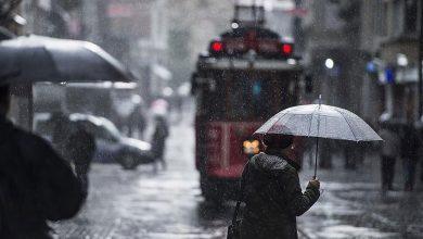 صورة الأرصاد الجوية:أمطار ورياح في هذه المناطق