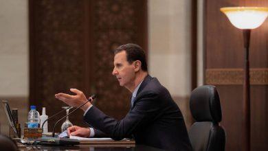 صورة مرسوم إقتصادي جديد يصدره الأسد في مدينة حلب
