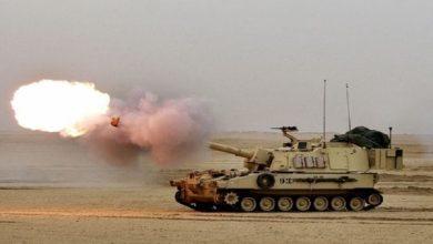 صورة الجيش التركي يرد ويبدأ الدك بمواقع النظام