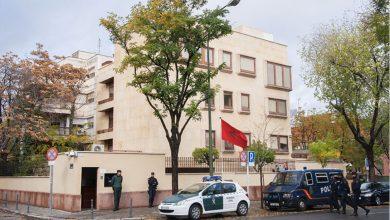 صورة اعـ.ـتداء على سفارة مغربية بأوروبا.. تطاولوا على راية المملكة لكن مفاجئة كبرى حدثت