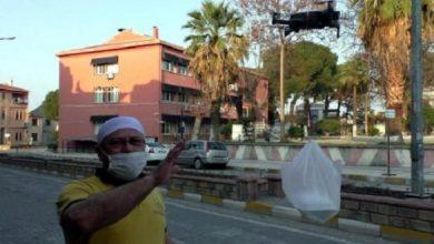 صورة شاهد مخبز تركي يوصل الطلبات للزبائن عبر دائرة بدون طيار ( فيديو )
