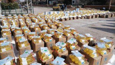 صورة مساعدات ماليةوسلل غذائية.. في شهر رمضان المبارك للمواطنين