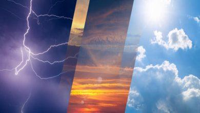 صورة الأرصاد الجوية: تفاوت في الطقس وتغيرات جديدة في هذه المناطق