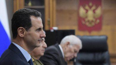 صورة جعجع يفتح نيرانه على الأسد ومهزلته