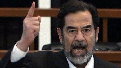 صورة الكشف عن رسالة خطية كتبها صدام حسين بيده- شاهد