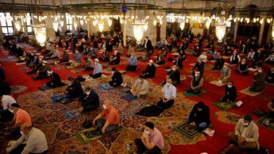 صورة بيان من هيئة الشؤون الدينية بخصوص صلاة العيد