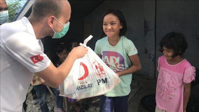 صورة عابرة للقارات.. مساعدات رمضانية تركية تصل مستحقيها