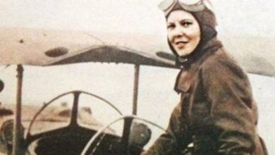 صورة تعرف على أول امرأة عربية حصلت على قيادة طائرة عام 1933