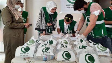 صورة جمعية عربية كبرى تبدأ.. بمناسبة العيد توزيع مساعدات للسوريين على نطاق واسع
