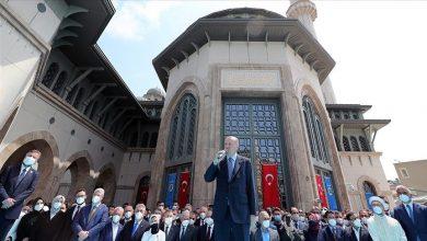 صورة بعد عقود.. أردوغان يفعلها ويبني مسجدا عظيما في تقسيم- صور