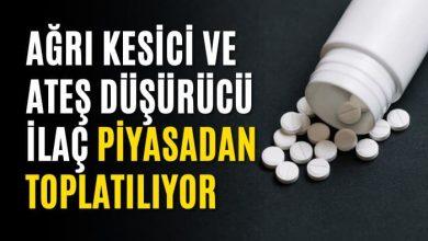 صورة وزارة الصحة التركية تعطي أوامرا بسحب عقار خفض الحرارة ومسكن الآ.لام من الصيدليات