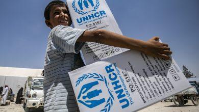 صورة مساعدات أممية جديدة قادمة للسوريين