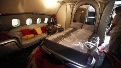 صورة سعرها 120 مليون دولار.. رئيس عربي كان يملك قصرا طائرا.. فيديو
