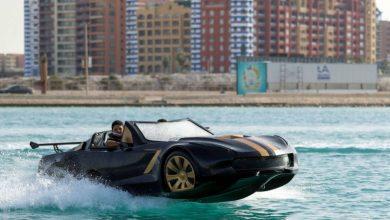صورة اختراع رائع.. 3 أصدقاء عرب ينتجون أول سيارة تسير فوق الماء- شاهد