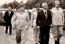 صورة أول رئيس سوري يقصـ.ـف شعبه..وكاد يعين جاسـ.ـوساً اسرائيلياً وزيراً للدفاع.. ماذا تعرف عن أمين الحافظ(أبوعبدو)