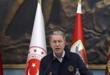 صورة وزير الدفـ.ـاع التركي يتحرك ويصل لسوريا برفقة عدد من قـ.ـادة الجيـ.ـش