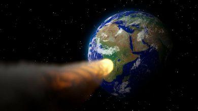 صورة كويكب يهـ.ـدد الأرض.. وتوجـ.ـيه 23 صـ.ـاروخا مدمـ.ـرا نحوه